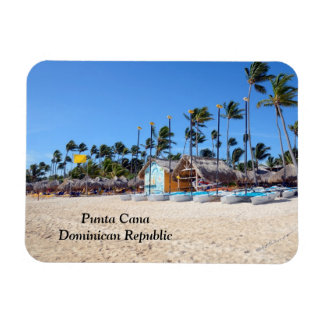 Punta Cana in the Dominican Republic Rectangular Photo Magnet