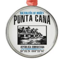 Punta Cana Metal Ornament