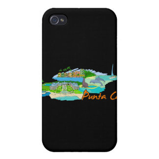 Punta Cana - Mexico.png iPhone 4 Cover