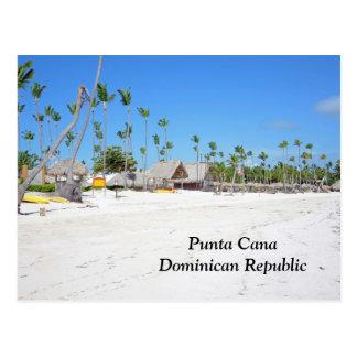 Punta Cana, República Dominicana Tarjeta Postal