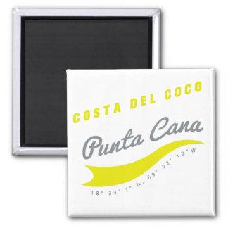 Punta Cana (yellow) Magnet