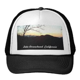 Punta de flecha del lago, casquillo de California  Gorra