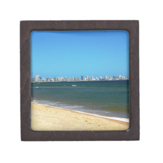 Punta Del Este Beach Keepsake Box