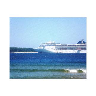 Punta Del Este Cruise Canvas Print