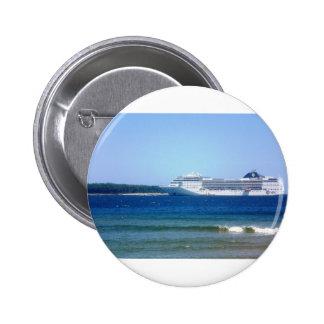 Punta Del Este Cruise Pinback Button