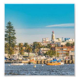 Punta del Este Port, Uruguay Photo Print