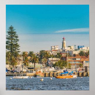 Punta del Este Port, Uruguay Poster