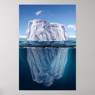 Punta del iceberg póster