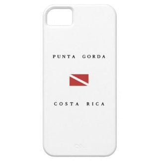 Punta Gorda Costa Rica Scuba Dive flag iPhone 5 Cover