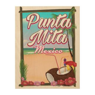 Punta Mita, Mexico Beach travel poster