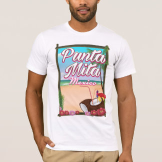 Punta Mita, Mexico Beach travel poster T-Shirt