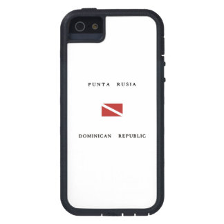 Punta Rusia Dominican Republic Scuba Dive Flag iPhone 5 Cases