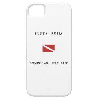 Punta Rusia Dominican Republic Scuba Dive Flag iPhone 5 Case