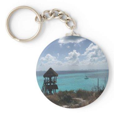 everydaylifesf Punta Sur, Isla Mujeres, Mexico Keychain
