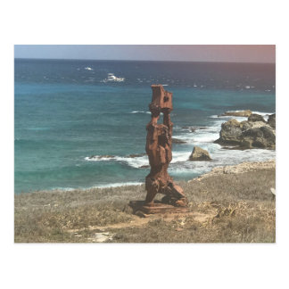 Punta Sur Sculpture, Mexico Postcard