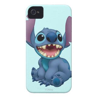 Puntada de Lilo y de la puntada emocionada iPhone 4 Case-Mate Cárcasa