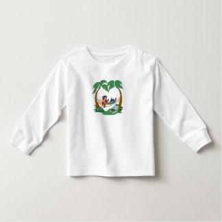 Puntada de Lilo y de Lilo de la puntada en una Tee Shirt