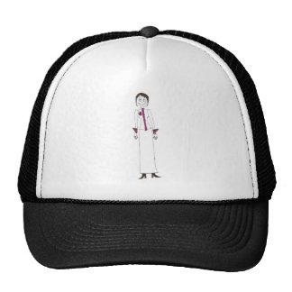 Puntada elegante gorras