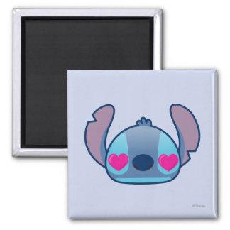 Puntada Emoji Imán Cuadrado