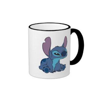 Puntada gruñona taza de café