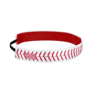 Puntadas ascendentes de un béisbol de las bandas bandas de cabello antideslizantes