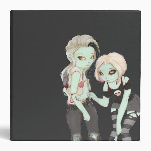 Puntadas - carpeta de los chicas del zombi
