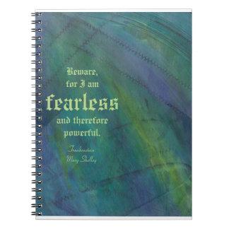 Puntadas de Frankenstein Cuaderno