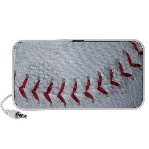Puntadas del béisbol altavoz de viaje