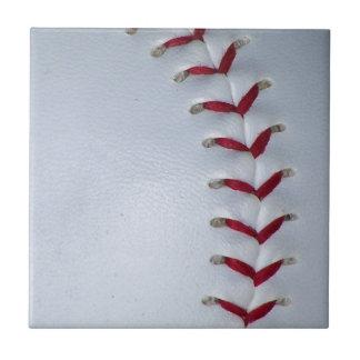 Puntadas del béisbol azulejo cuadrado pequeño