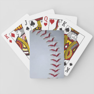 Puntadas del béisbol cartas de póquer