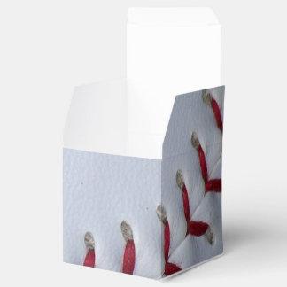 Puntadas del béisbol cajas para regalos de fiestas
