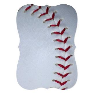 """Puntadas del béisbol invitación 5"""" x 7"""""""