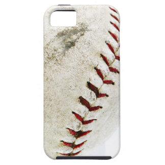 Puntadas del béisbol o del softball del vintage iPhone 5 cárcasas