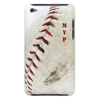 Puntadas del béisbol o del softball del vintage Case-Mate iPod touch cárcasa