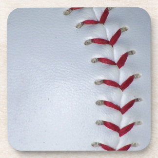 Puntadas del béisbol posavasos de bebidas
