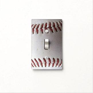 Puntadas del béisbol tapas para interruptores