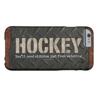 Puntadas del hockey funda de iPhone 6 barely there