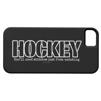 Puntadas del hockey iPhone 5 funda
