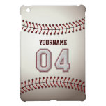 Puntadas frescas del béisbol - número de encargo 0 iPad mini fundas