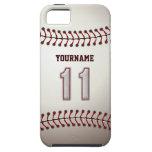 Puntadas frescas del béisbol - número de encargo 1 iPhone 5 protectores