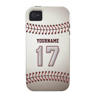 Puntadas frescas del béisbol - número de encargo 1 iPhone 4/4S carcasa