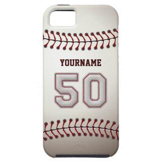 Puntadas frescas del béisbol - número de encargo 5 iPhone 5 fundas