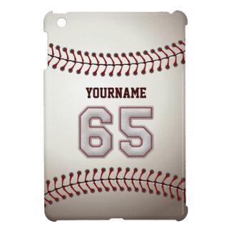 Puntadas frescas del béisbol - número de encargo 6 iPad mini cárcasa