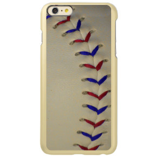 Puntadas rojas y azules del béisbol/del softball