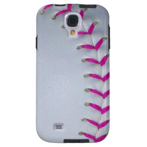 Puntadas rosadas del softball