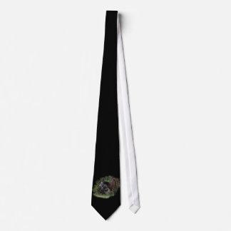 Puntal de Turquía en negro Corbata Personalizada
