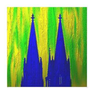 Puntas de catedral lienzo impresiones en lienzo estiradas