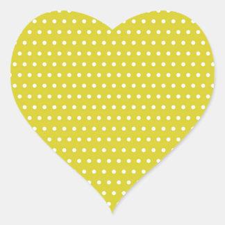 puntea sonnengelb (varios productos elegido) pegatina en forma de corazón