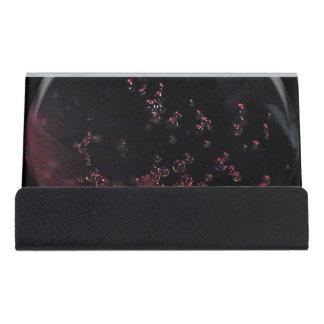 Punto 0263 de las burbujas de la carbonatación de caja de tarjetas de visita para escritorio