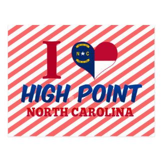 Punto álgido, Carolina del Norte Tarjetas Postales